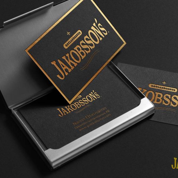 Jakobssons får ny design!